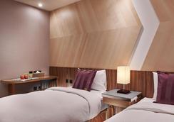 Muzik Hotel - Ximending Xining Branch - Taipei - Bedroom