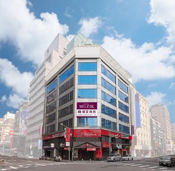 Muzik Hotel - Ximending Xining Branch - Taipei - Building