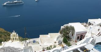 Nomikos Villas - Thera - Outdoor view