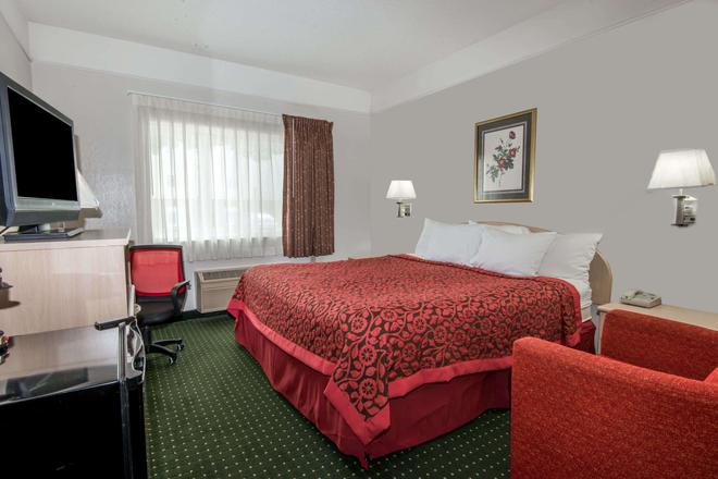 Days Inn by Wyndham Kansas City International Airport - Kansas City - Schlafzimmer