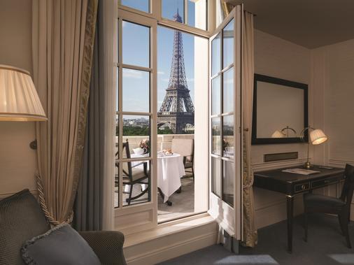 Shangri-La Hotel Paris - Paris - Bedroom