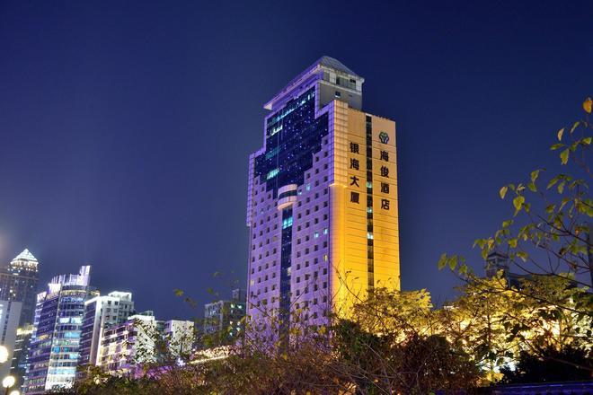 銀灣百靈商務酒店廣州 - 廣州 - 建築