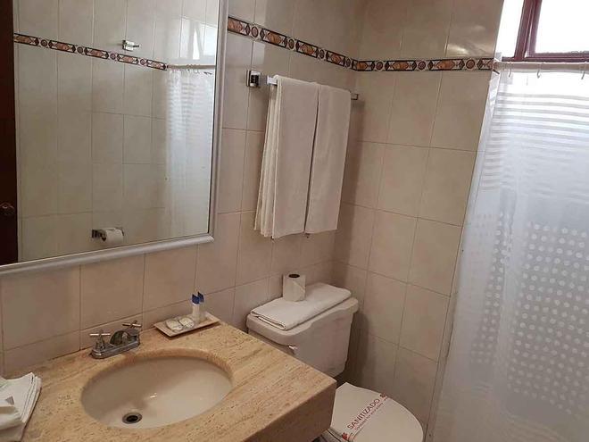佩爾戈拉斯酒店 - 瓜達拉哈拉 - 瓜達拉哈拉 - 浴室