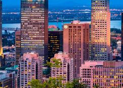 Le Centre Sheraton Montreal Hotel - Montreal - Outdoor view