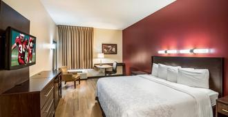 鳳凰城西紅屋頂普拉斯酒店 - 鳳凰城 - 鳳凰城 - 臥室