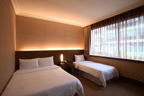 東龍大飯店 - 台北 - 臥室