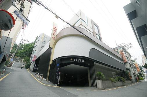 Elysee Hotel - Busan - Rakennus