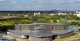 Minsk Marriott Hotel - Minsk - Vista externa