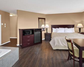 Days Inn by Wyndham Kamloops BC - Kamloops - Bedroom