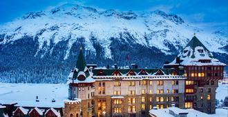 Badrutt's Palace Hotel - St. Moritz - Building