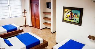 Hotel Plaza Mayor Medellin - Medellín - Phòng ngủ