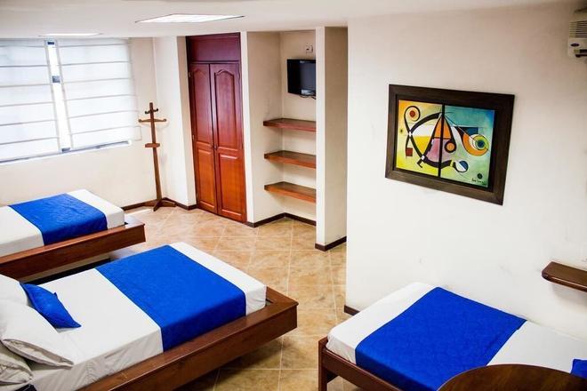 Hotel Plaza Mayor - Medellín - Habitación