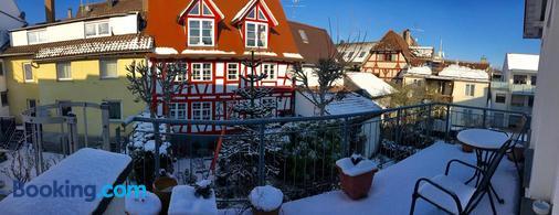 Hotel Garni Wiestor - Überlingen - Balcony