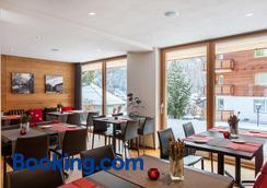 Elite Alpine Lodge - Apart & Breakfast - Saas-Fee - Restaurant