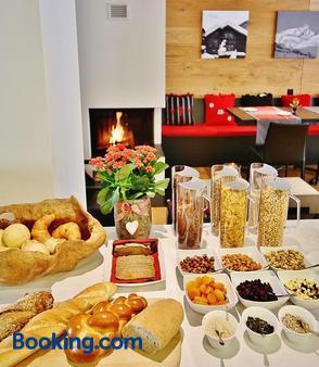 Elite Alpine Lodge - Apart & Breakfast - Saas-Fee - Buffet