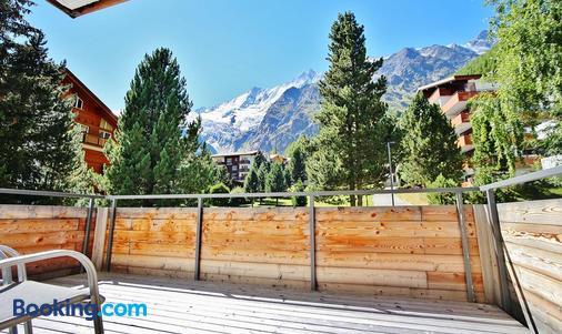 Elite Alpine Lodge - Apart & Breakfast - Saas-Fee - Balcony