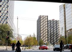 China Sunshine Apartment Dacheng International - Pekín - Vista del exterior