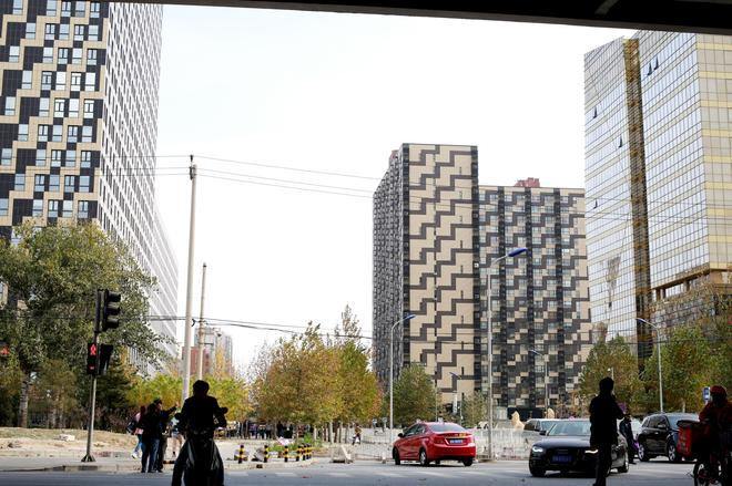 China Sunshine Apartment Dacheng International - Beijing - Outdoors view