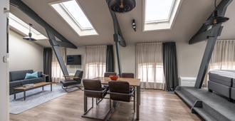 Yays Oostenburgergracht Concierged Boutique Apartments - Amsterdam - Living room