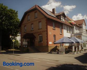 Hotel Zur Eisenbahn - Renningen - Building