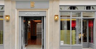 Hôtel Baume - París - Edificio
