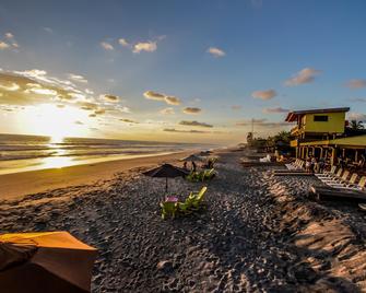Hotel Estero y Mar - La Herradura - Pláž