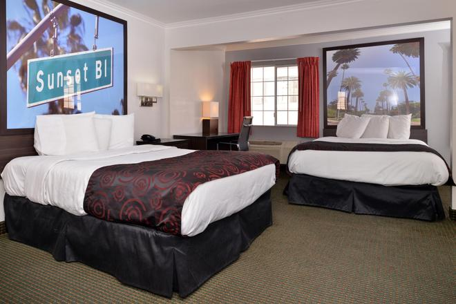 Americas Best Value Inn Hollywood Los Angeles - Los Angeles - Camera da letto