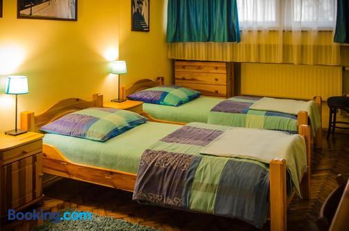 因大羅客房酒店 - 克拉科夫 - 臥室