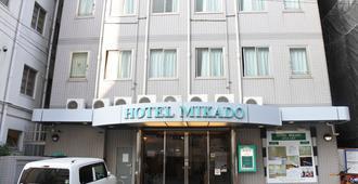 Hotel Mikado - Hostel - Осака - Здание
