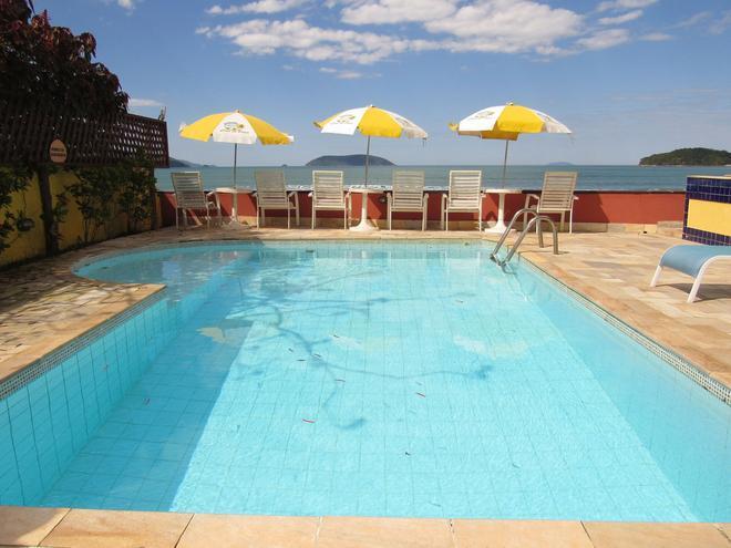Pousada Casa Na Praia - Ubatuba - Pool