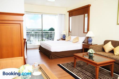 Kameo Grand Rayong Hotel & Serviced Apartments - Rayong - Κρεβατοκάμαρα