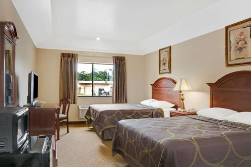 Super 8 by Wyndham Conroe - Conroe - Bedroom