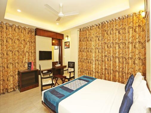 Oyo 9753 Hotel Cheelgadi - Джайпур - Спальня