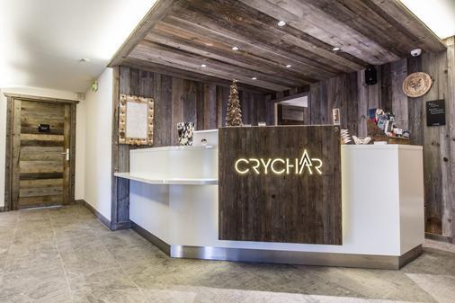 Chalet Hotel Crychar - Les Gets - Front desk