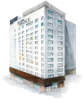 Hotel Felice Shinsaibashi By Relief - Osaka - Building