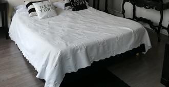 伊札拉套房 SPA 飯店 - 樂都給 - 臥室