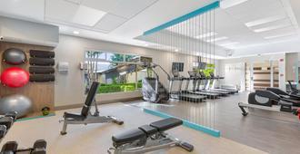 Crowne Plaza San Jose Corobici Conf. Center - Σαν Χοσέ - Γυμναστήριο