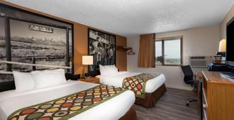 Super 8 by Wyndham Cheyenne WY - Cheyenne - Bedroom