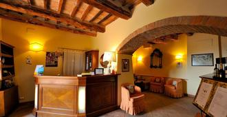 Agrihotel Il Palagetto - Volterra - Front desk