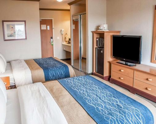 Comfort Inn & Suites - Ocean Shores - Schlafzimmer