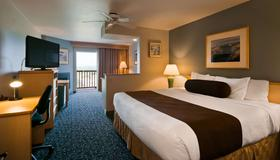 Best Western Lighthouse Suites Inn - Ocean Shores - Soveværelse