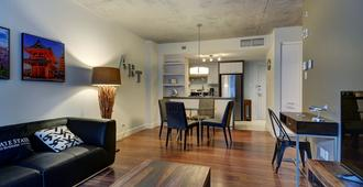 Corporate Stays La Garde Apartments - Québec City - Living room