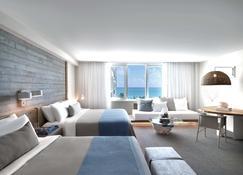 1 โรงแรมเซาธ์ บีช - ไมอามีบีช - ห้องนอน