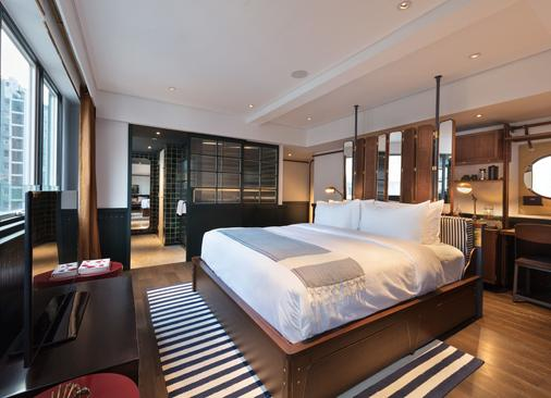 芬名酒店 - 香港 - 臥室