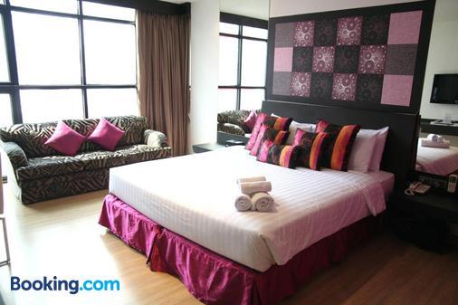 格蘭德酒店 - 曼谷 - 曼谷 - 臥室