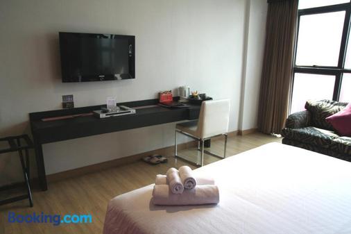 格蘭德酒店 - 曼谷 - 曼谷 - 客廳