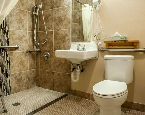 Econo Lodge Inn & Suites - Santa Fe - Bathroom