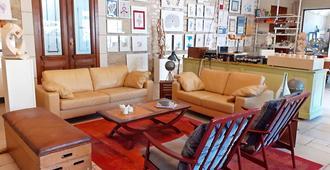 La Ferme de la Fosse Dionne - Tonnerre - Sala de estar