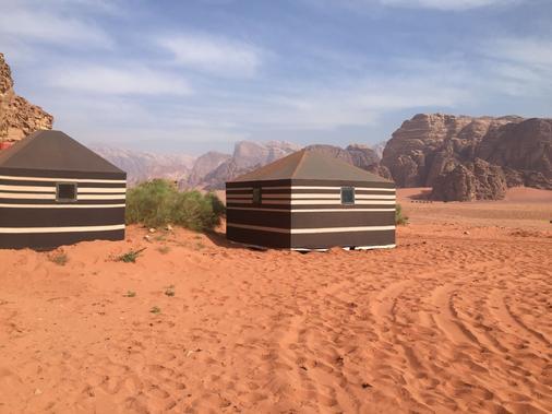 Oasis Bedouin Camp - Wadi Rum - Outdoor view