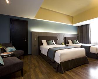 F1 Hotel Manila - Taguig - Спальня